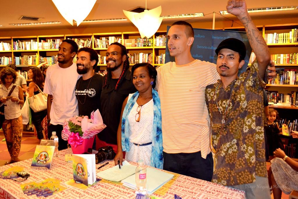 Andrio Candido, Rafael Carnevalli, eu, Regina, Lucas Afonso e Daniel Lobo