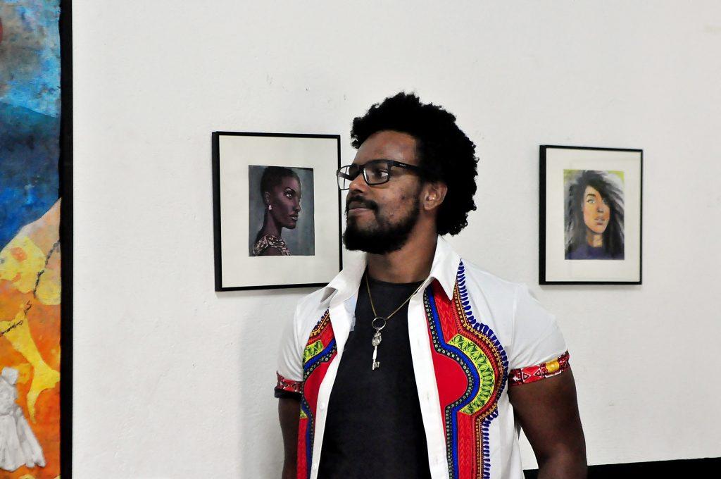 artista diogo nogue e trabalhos da série faces espelhos